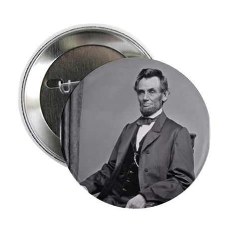 """Pres Abraham Lincoln 2.25"""" Button (10 pack)"""