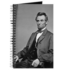 Pres Lincoln Journal American History Photo