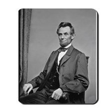 Pres Abraham Lincoln Mousepad