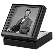 Pres Abraham Lincoln Keepsake Box