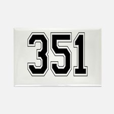 351 Rectangle Magnet