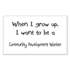 When I grow up I want to be a Community Developmen