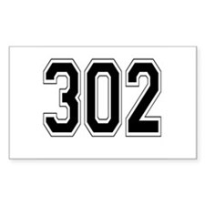 302 Rectangle Decal
