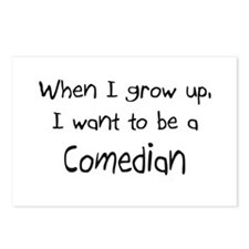 When I grow up I want to be a Comedian Postcards (