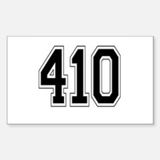 410 Rectangle Decal