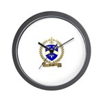 BERGER Family Crest Wall Clock