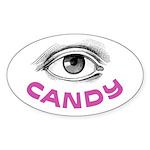 Eye Candy Oval Sticker