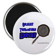 Skillet Trailer Expert Magnet