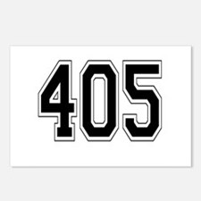 405 Postcards (Package of 8)
