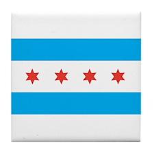 CHICAGO Tile Coaster