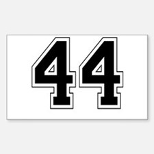 44 Rectangle Decal