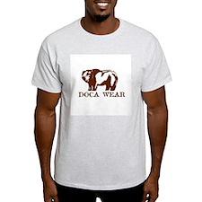 DOCA WEAR Design Ash Grey T-Shirt