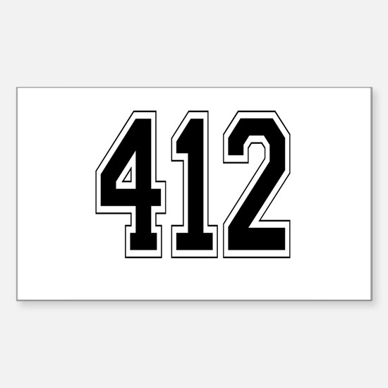 412 Rectangle Decal