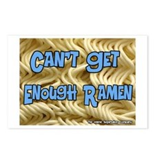 Can't Get Enough Ramen Postcards (Package of 8)