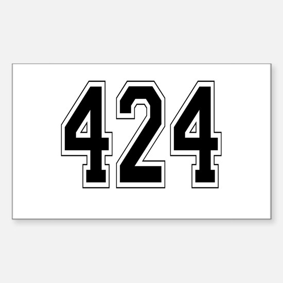 424 Rectangle Decal
