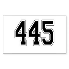 445 Rectangle Decal