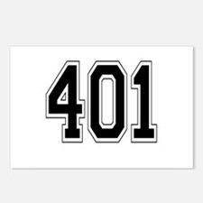 401 Postcards (Package of 8)