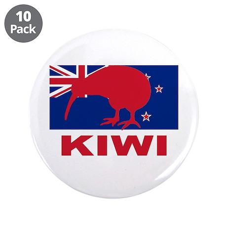 "Kiwi 3.5"" Button (10 pack)"