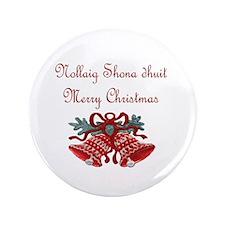 "Irish Christmas 3.5"" Button (100 pack)"
