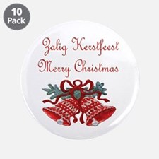 "Belgian Christmas 3.5"" Button (10 pack)"