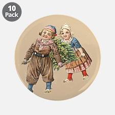 "Dutch Christmas 3.5"" Button (10 pack)"