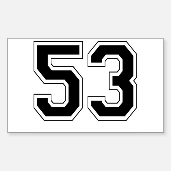 53 Rectangle Decal