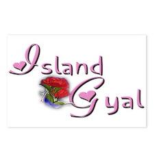 Island Gyal - Postcards (Package of 8)