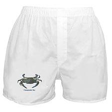 Chesapeake Bay Blue Crab Boxer Shorts