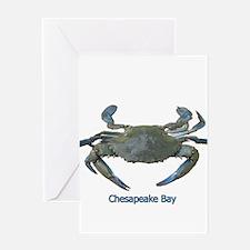 Chesapeake Bay Blue Crab Greeting Card