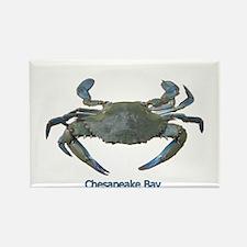 Chesapeake Bay Blue Crab Rectangle Magnet