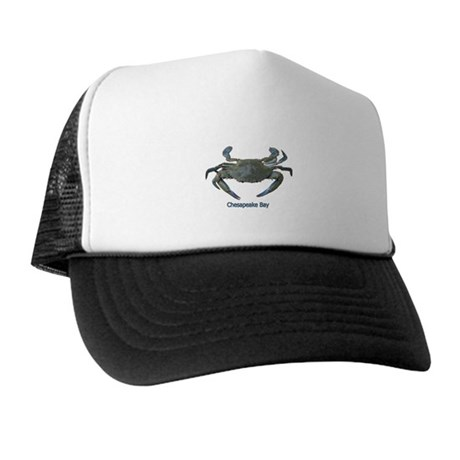 Chesapeake Bay Blue Crab Trucker Hat