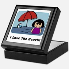 Love The Beach Keepsake Box