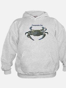 Chesapeake Bay Blue Crab Hoodie