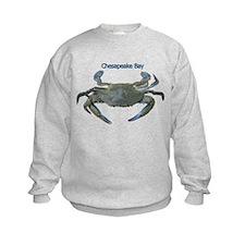 Chesapeake Bay Blue Crab Sweatshirt