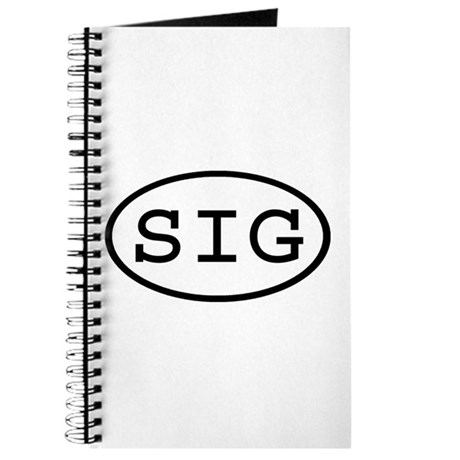 SIG Oval Journal