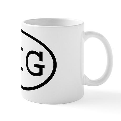 SIG Oval Mug