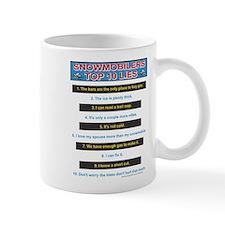 Top Ten Lies Snowmobilers use Mug