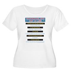 Top Ten Lies Snowmobilers use T-Shirt