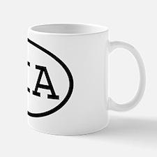 SIA Oval Mug