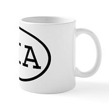 SIA Oval Small Mug