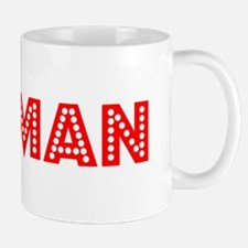 Retro Holman (Red) Small Small Mug