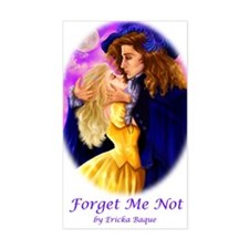 Forget me not Rectangle Decal
