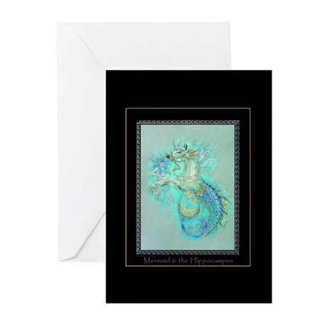 Greeting Cards (Pk of 10) Hippocampus