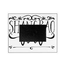 Groucho Paw Print (Black) Large Pet Bowl