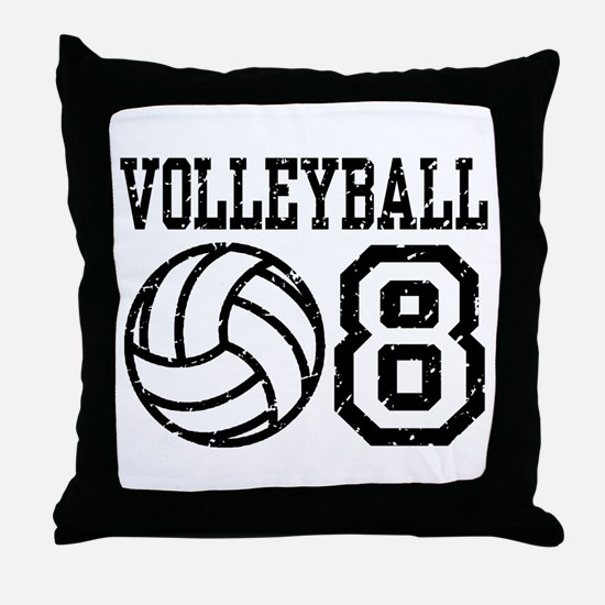 Volleyball 08 Throw Pillow