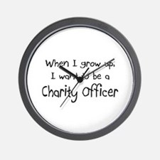 When I grow up I want to be a Charity Officer Wall