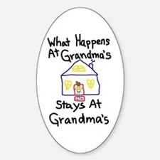 Grandma's House Decal