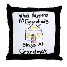 Grandma's House Throw Pillow