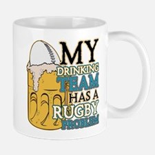 Rugby Drinking Team Mug