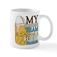 Rugby Drinking Team Mug